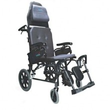 Karman Ergonomic MVP Reclining Transport Wheelchair