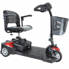 Drive Spitfire Scout DLX Compact 3 Wheel Travel Scooter